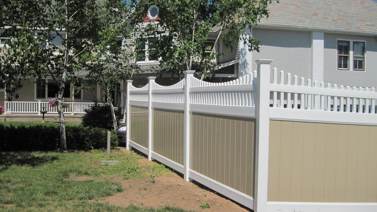 Vinyl Fencing Contractor Granby Ct Fence One Llc