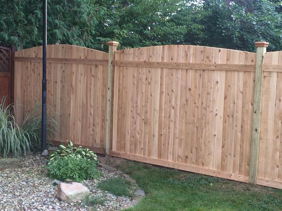 wood fencing